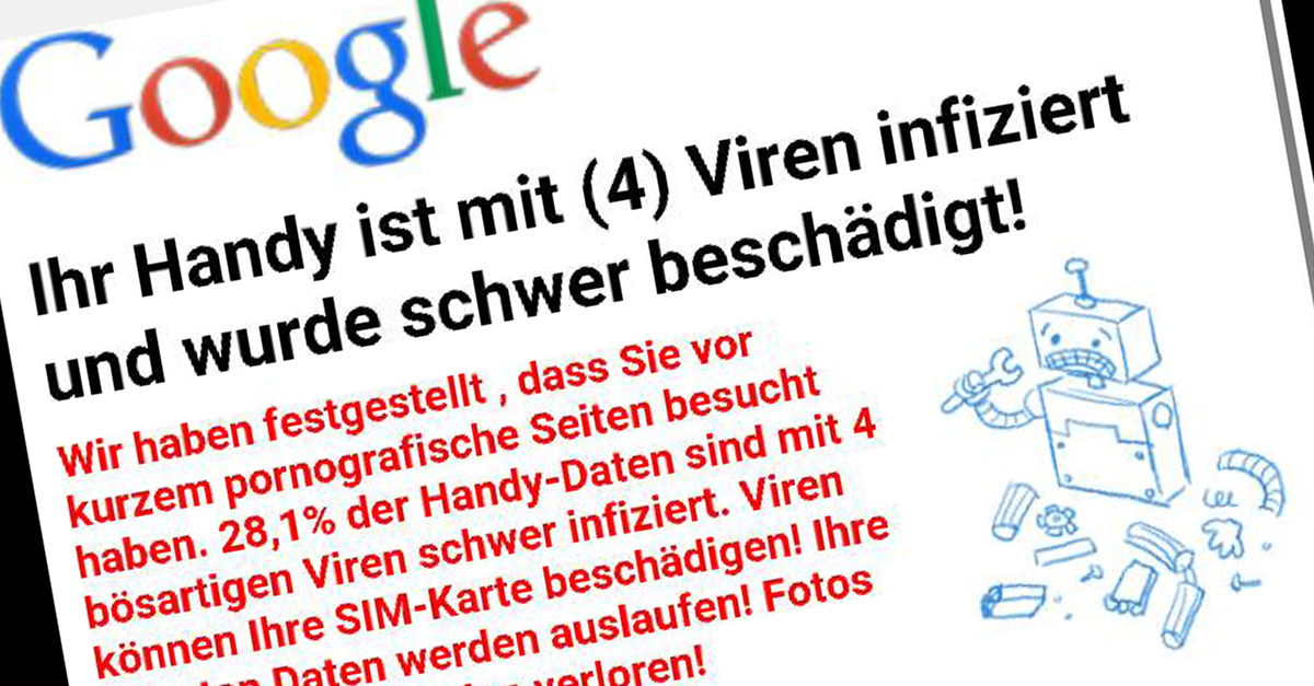 Handy Browser Werbung