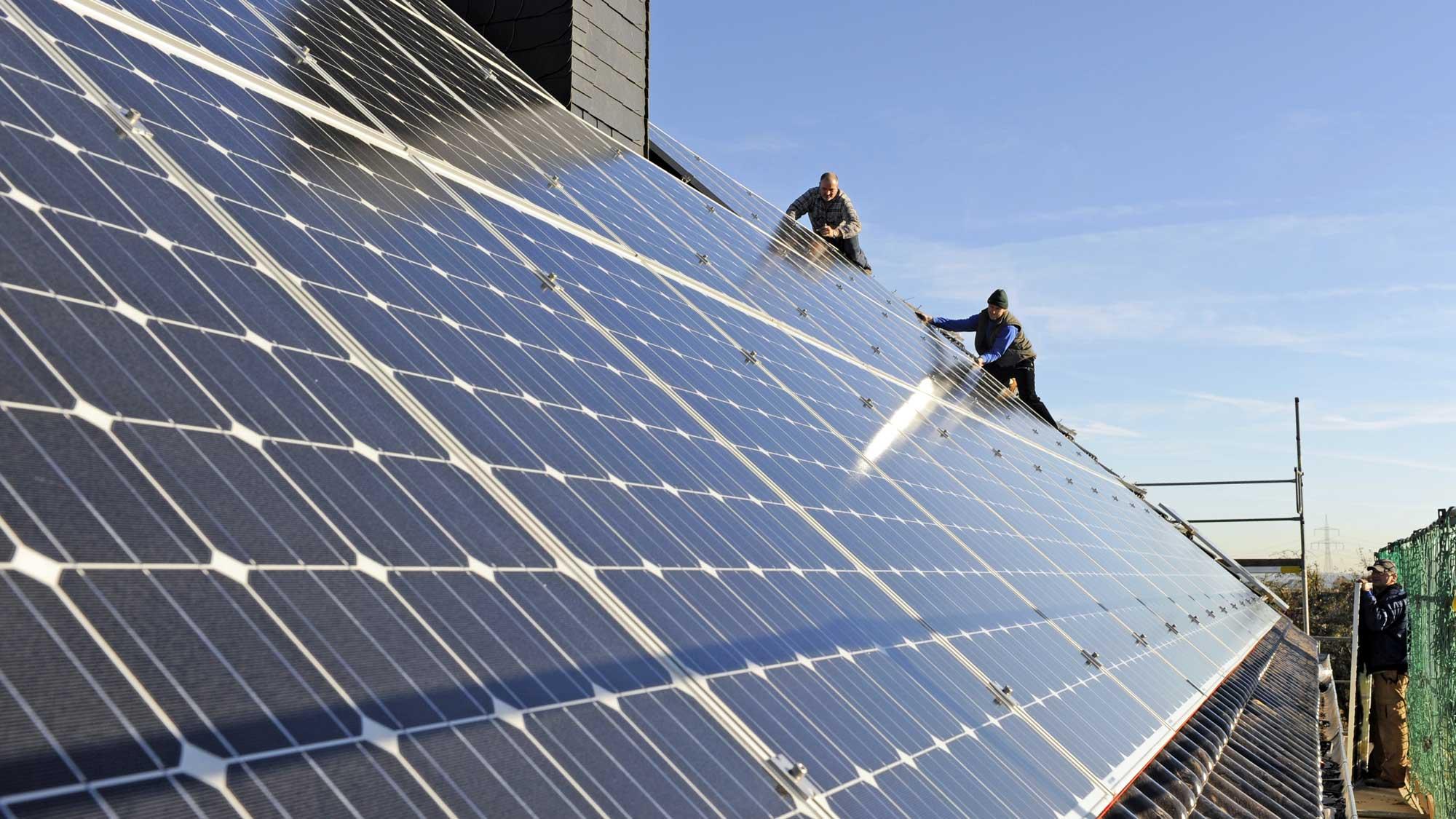 solarstrom vom eigenen dach bringt gute rendite