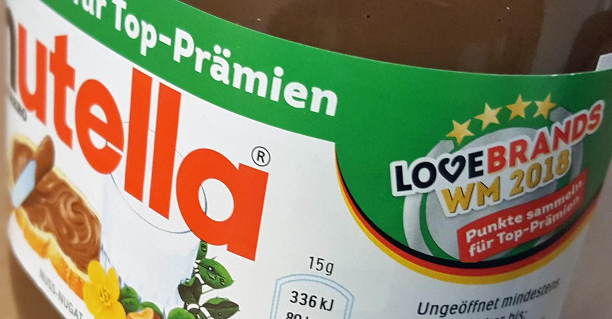 Fußball-WM 2018: Nutella unter Beschuss! Verbraucherschützer warnen vor WM-Aktion