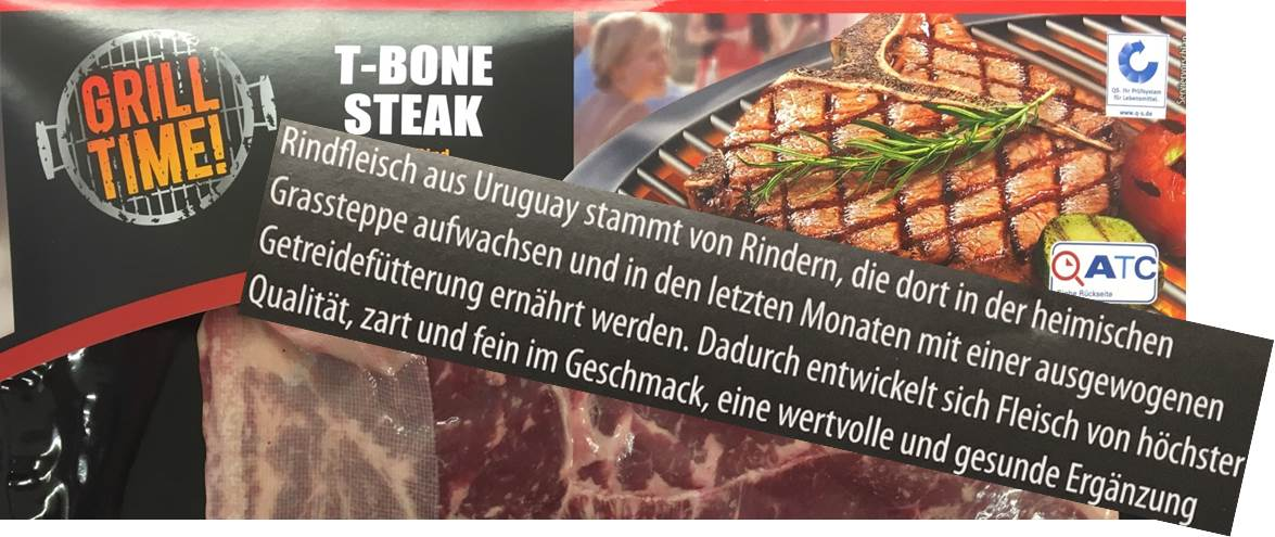 T-Bone Steak von Aldi Nord