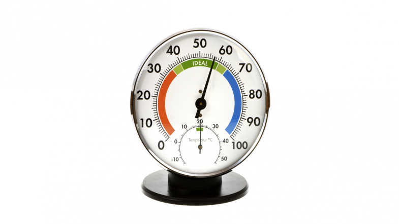 Analoges Thermohygrometer